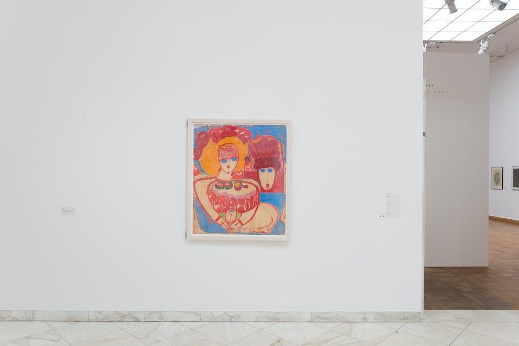 exhibition view of *flying high, künstlerinnen der art brut*, curators : ingried brugger, hannah rieger, veronika rudorfer, kunstforum, vienna, 2019. - © kunstforum, nilo klotz, christian berst — art brut