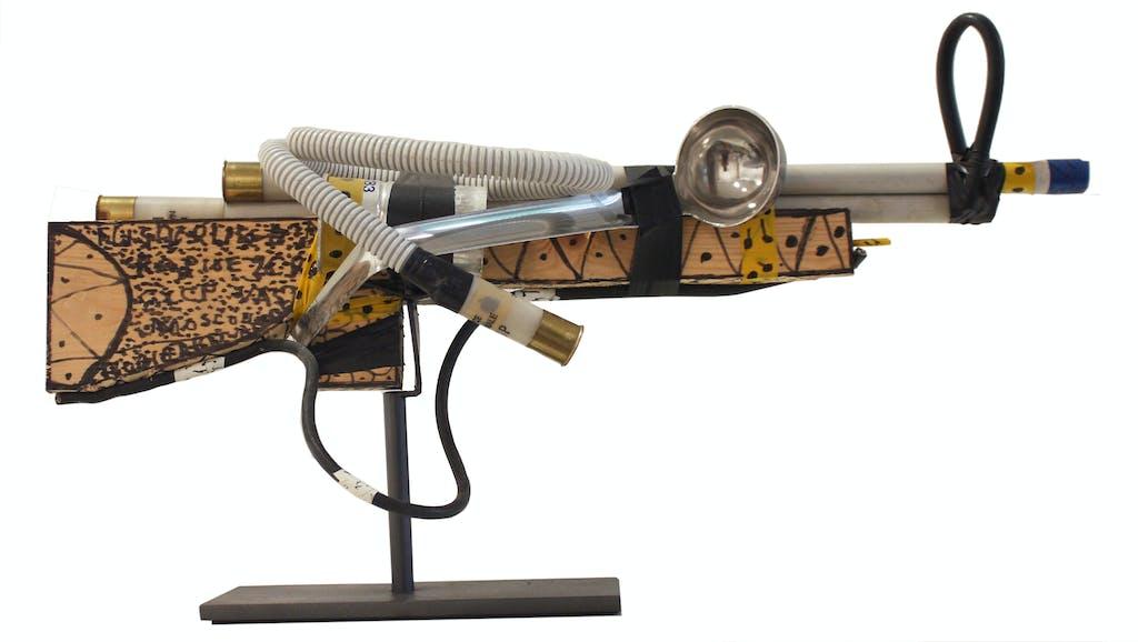 sans titre (fusil russe rapide 260) - © christian berst — art brut