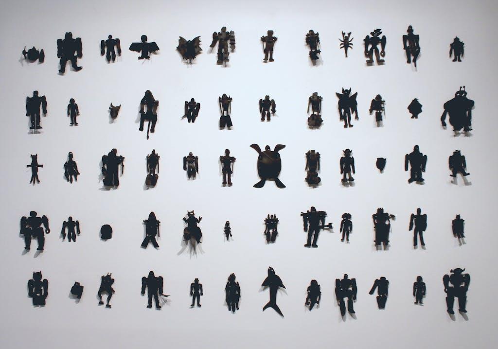vue de l'exposition **Fuerza Cubana : misleidys et daldo** à la galerie en février 2016 - © christian berst — art brut