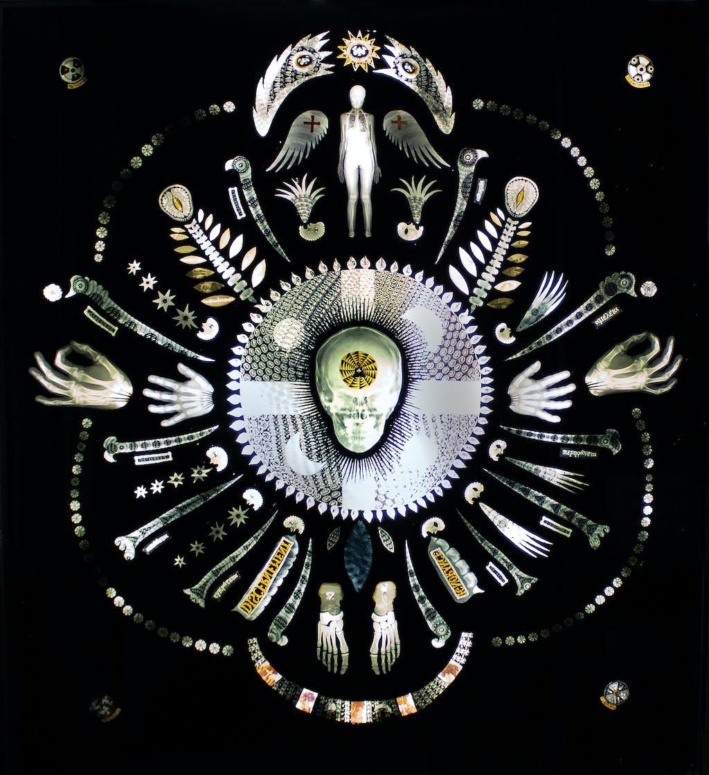 La méditoraison de la moniale Antonia - © christian berst — art brut