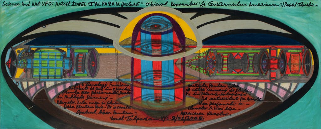 untitled (science and art UFO) - © christian berst — art brut
