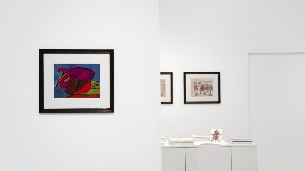 exhibition view of *jacqueline b : the untamed*, christian berst art brut, paris, 2020. - © christian berst art brut, christian berst — art brut