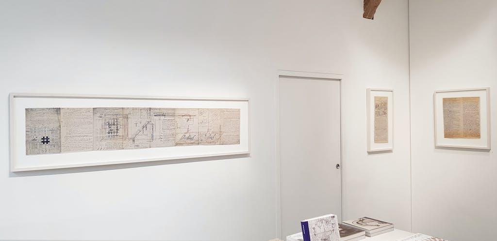 vue de l'exposition *jean perdrizet : deus ex machina #2*, christian berst art brut, paris, 2018. - © christian berst art brut, christian berst — art brut