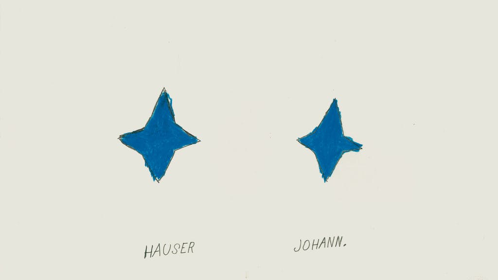 Johann Hauser - © christian berst — art brut