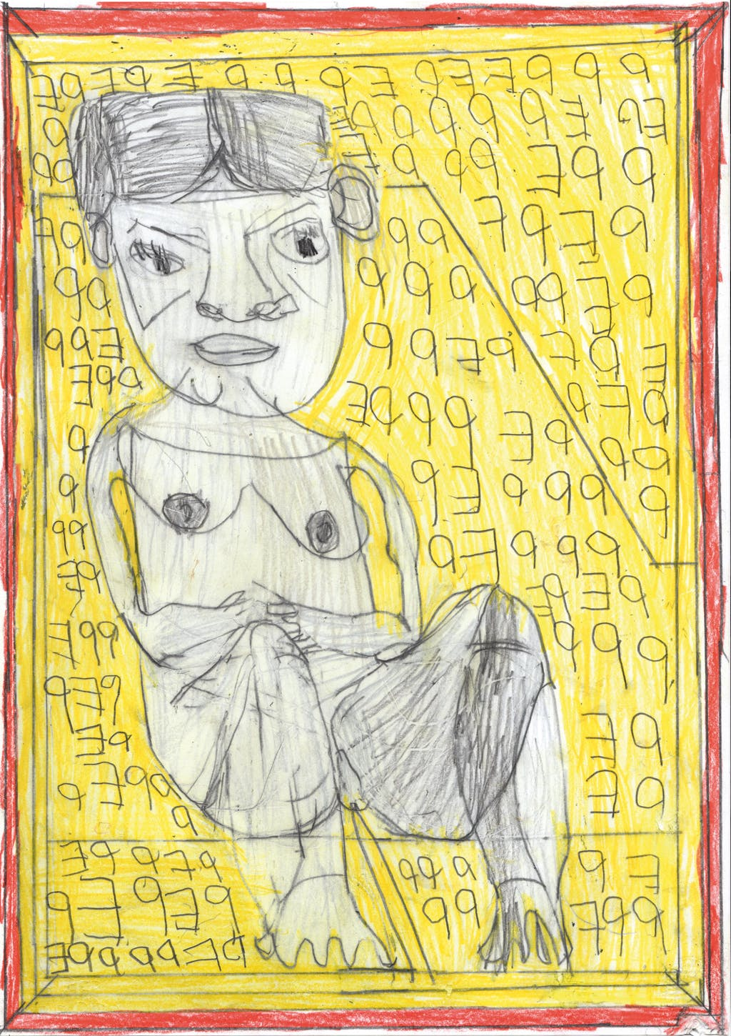 JOSEF HOFER. untitled - © christian berst — art brut