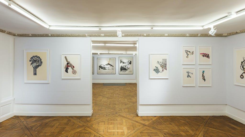 stand christian berst art brut, *salon approche*, hôtel le molière, paris, 2019. - © gregory copitet, christian berst — art brut