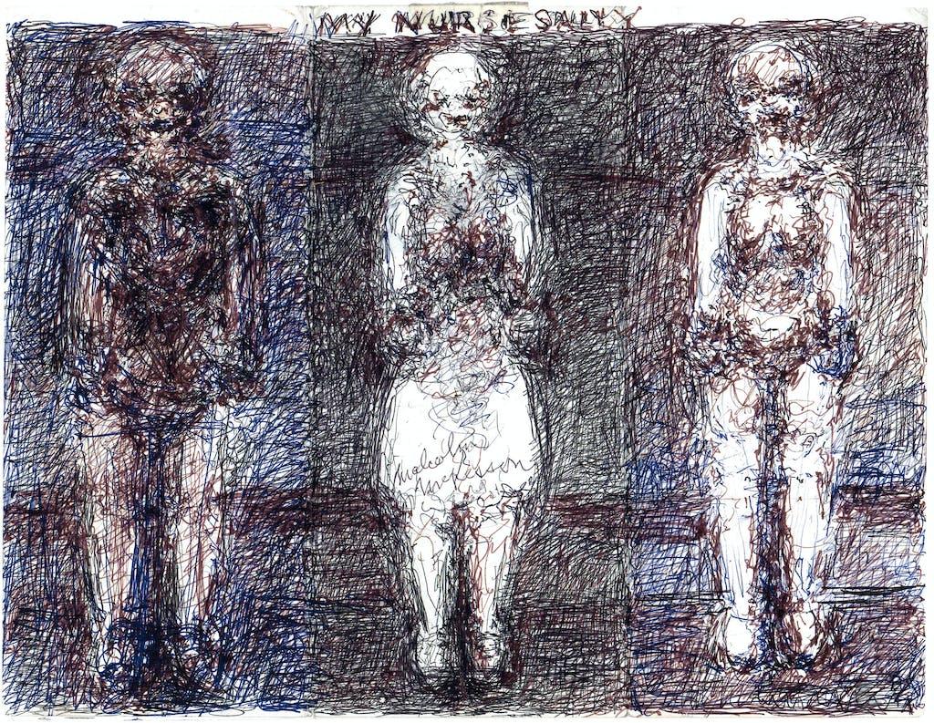 my three personalities - © christian berst — art brut