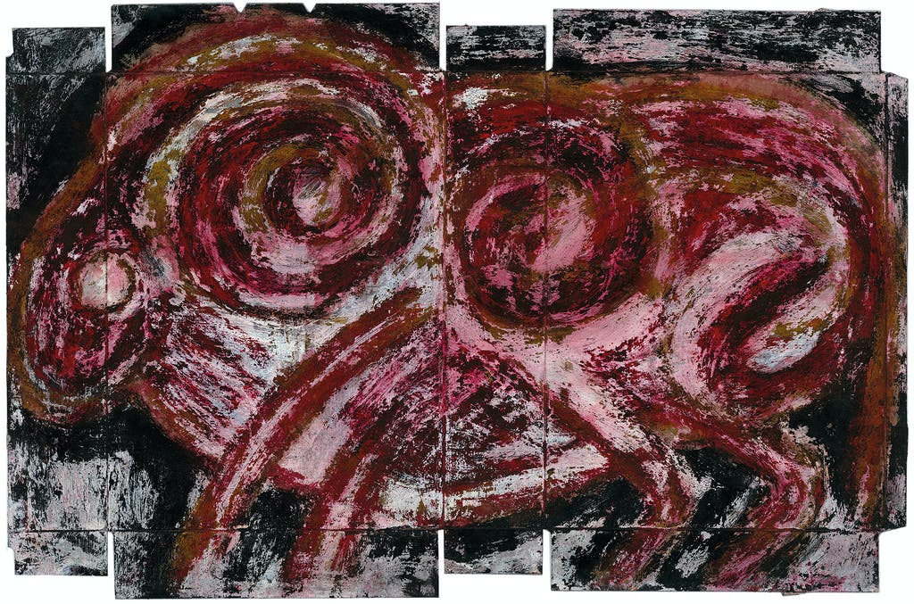 untitled (Darius's period) - © christian berst — art brut