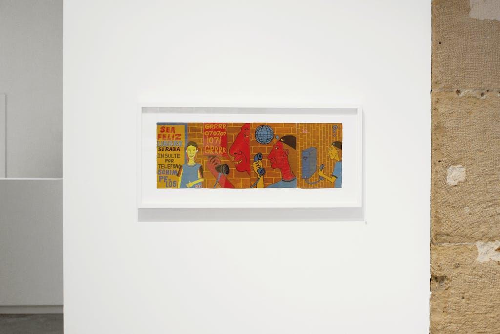 Vue de l'exposition *Fuerza Cubana 2: Misleidys & Rigo*, christian berst art brut, Paris, 2018. - © christian berst art brut, christian berst — art brut