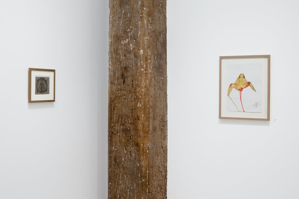Exhibition view of *in the flesh : veritable bodies*, christian berst art brut, Paris, 2020 - © ©christian berst art brut, christian berst — art brut