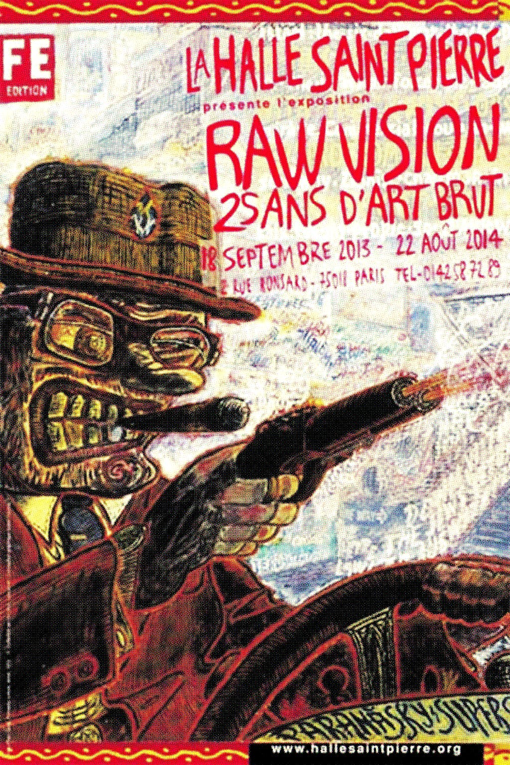 Raw Vision - © christian berst — art brut