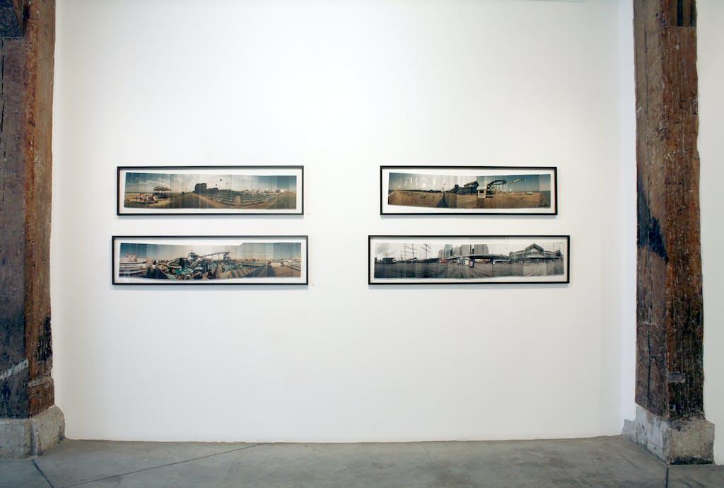 Vue de l'exposition *Albert Moser : life as a panoramic*, christian berst art brut, Paris, 2012 - © ©christian berst art brut, christian berst — art brut