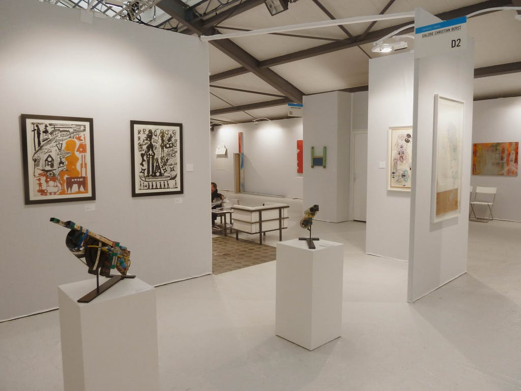 slick art fair paris - © christian berst — art brut