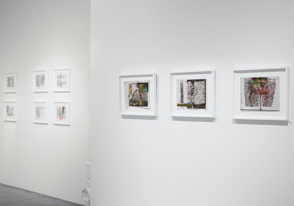 Vue de l'exposition *Pepe Gaitán : epiphany*, christian berst art brut, Paris, 2014 - © ©christian berst art brut, christian berst — art brut