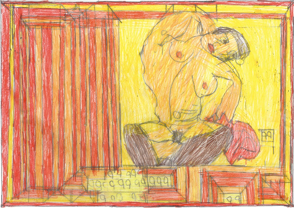 The Schiele Incident - © christian berst — art brut
