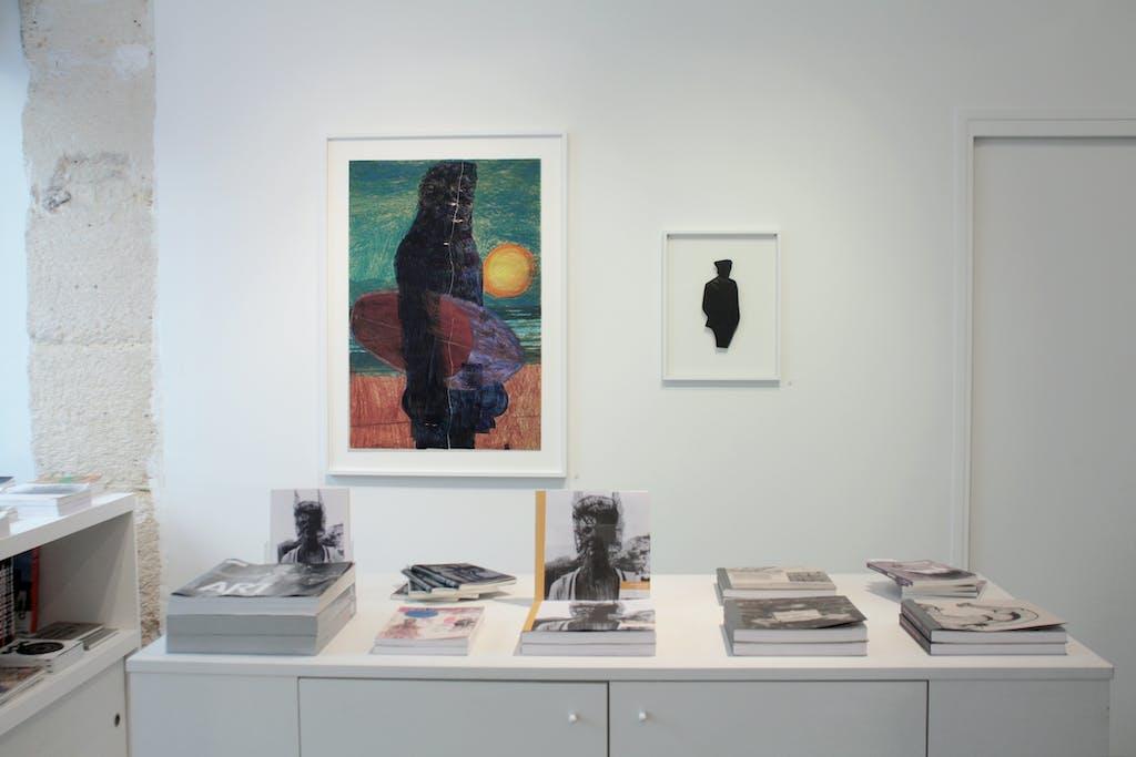 Vue de l'exposition *José Manuel Egea : Lycanthropos*, christian berst art brut, Paris, 2016 - © christian berst art brut, christian berst — art brut