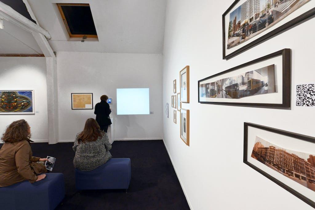 Vue de l'exposition *Brut now : l'art brut au temps des technologies*, Musées de Belfort, France, 2017. - © Musées de Belfort, christian berst — art brut