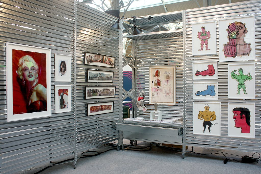 christian berst art brut booth, *Galeristes*, le Carreau du Temple, Paris, 2016. - © christian berst art brut, christian berst — art brut