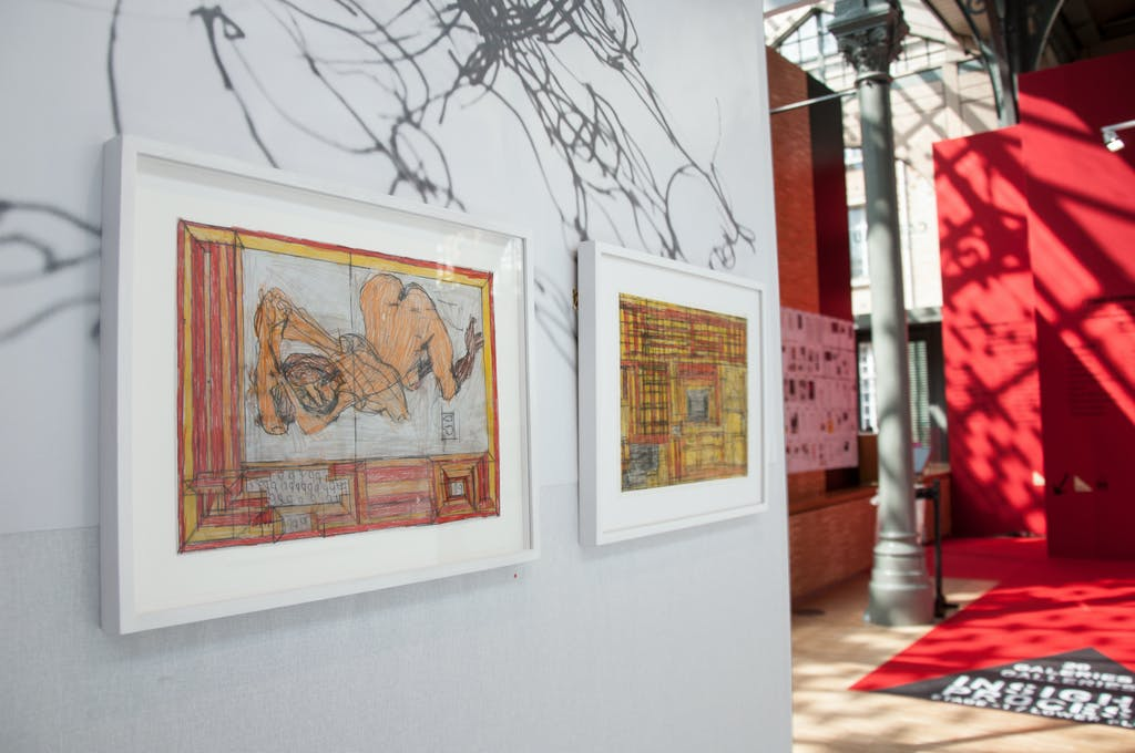 stand christian berst art brut, *drawing now art fair*, le carreau du temple, paris, 2019. - © christian berst art brut, christian berst — art brut