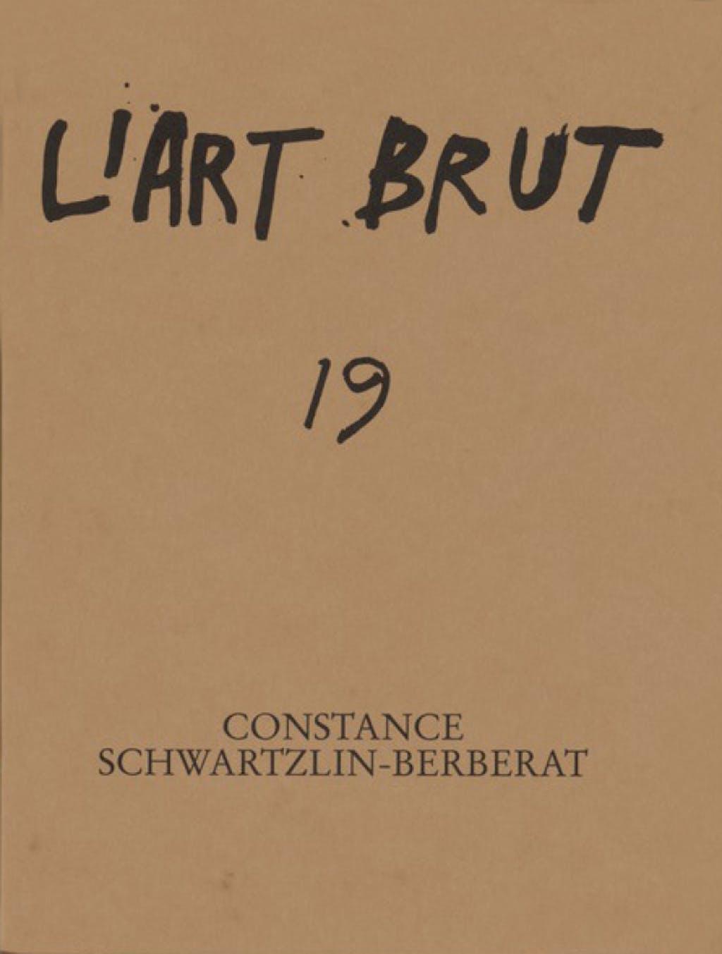 Fascicule de l'art brut n°19 - © christian berst — art brut