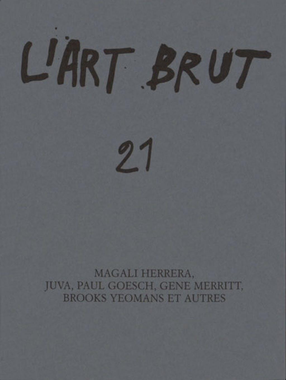 Fascicule de l'art brut n°21 - © christian berst — art brut