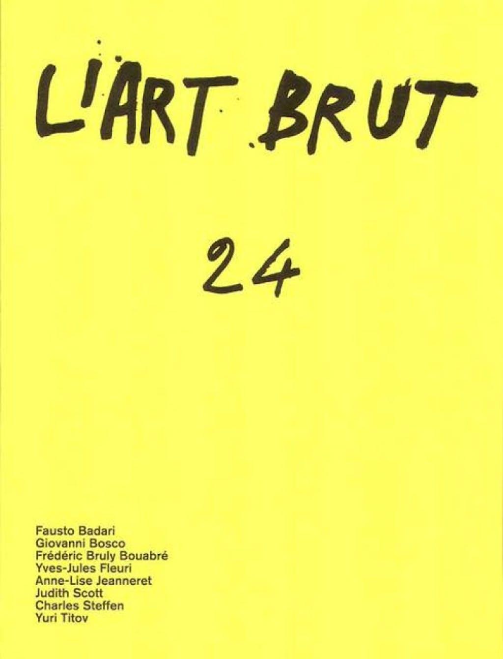 Fascicule de l'art brut n°24 - © christian berst — art brut