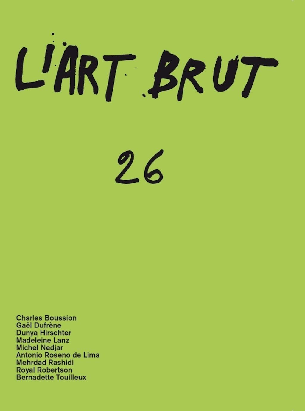 Fascicule de l'art brut n°26 - © christian berst — art brut