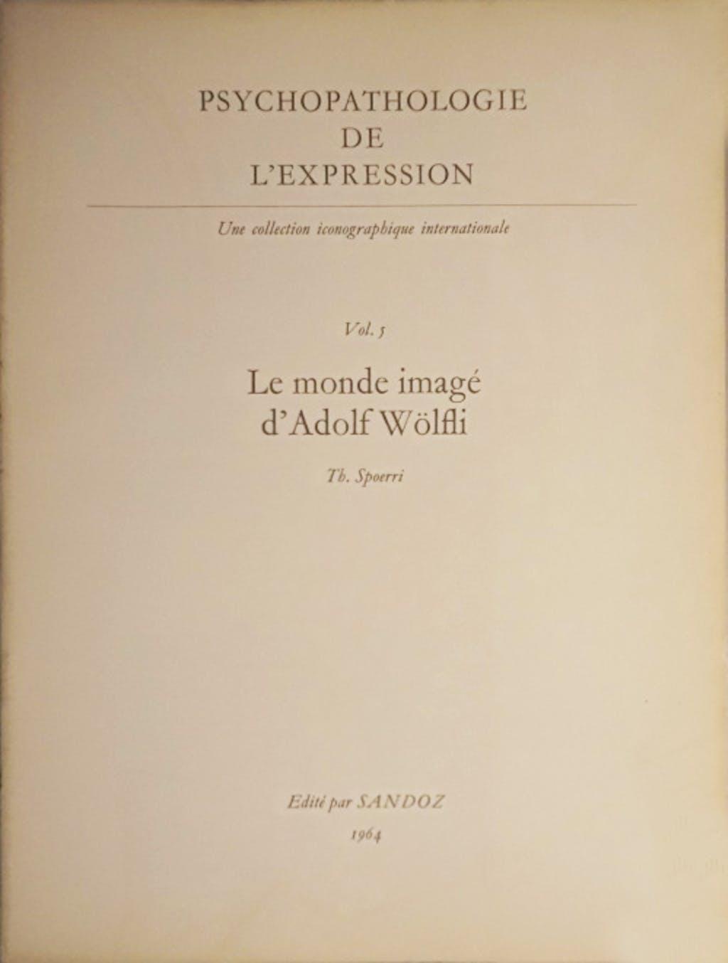 Psychopathologie de l'expression n°5 - © christian berst — art brut
