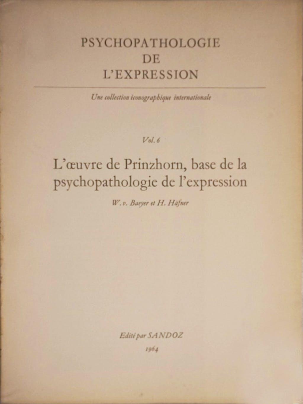 Psychopathologie de l'expression n°6 - © christian berst — art brut